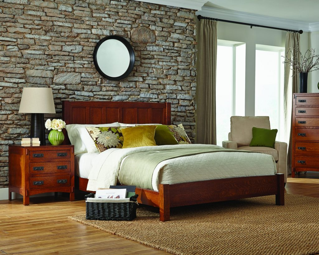 Palettes by Winesburg, American Craftsman Panel Bed