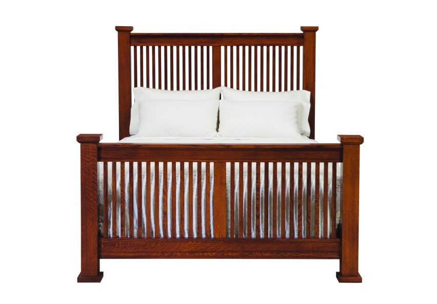 American Craftsman Prairie Spindle Bed