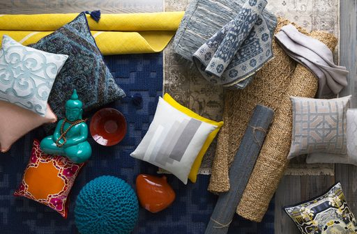 Use color, texture or a specific pattern for your style inspiration